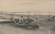 Santa Pola beach, beginning 20th century