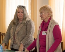 Shirley Baehr and Margaret Roberts