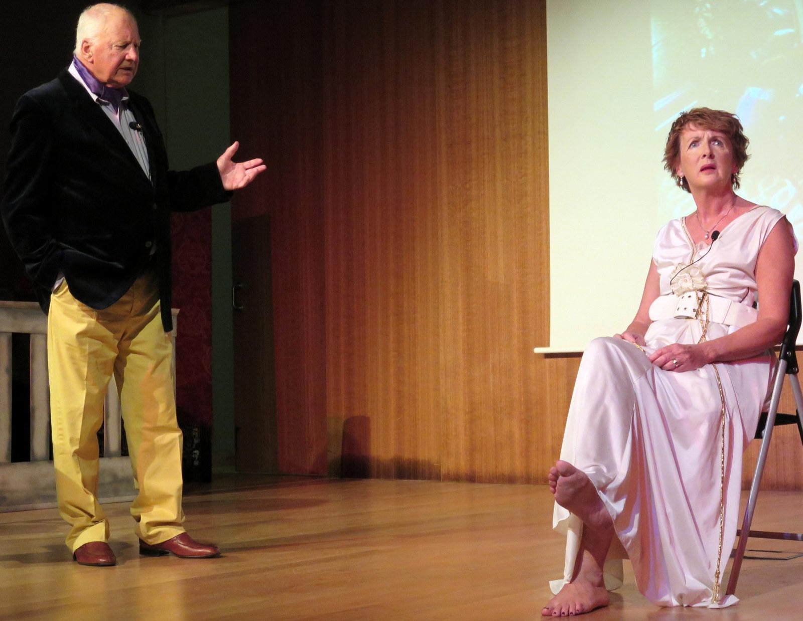 31-Mick and Linda as ghost