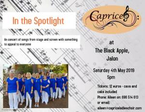 Caprice: In the Spotlight, Jalon @ The Black Apple
