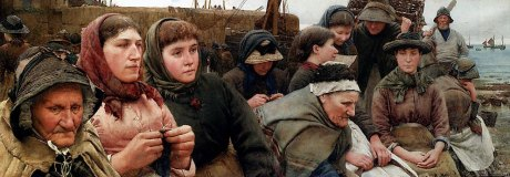 Art_walter langley-waiting for the boats