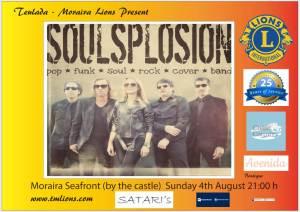 TM Lions Summer Concert - Soulsplosion @ Seafront