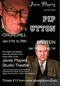 Javea Players present TWO GREAT MEN WHO SHOOK THE WORLD - Churchill @ Javea Players Studio