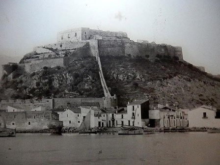 Undated, Denia port and castle