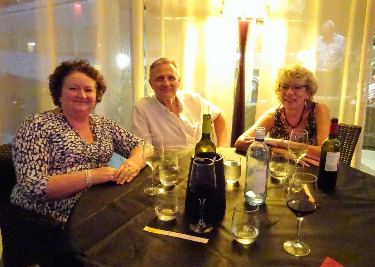 Christine, Klaus & Cheryl