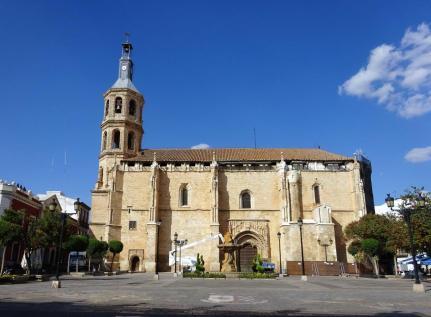Church in main square