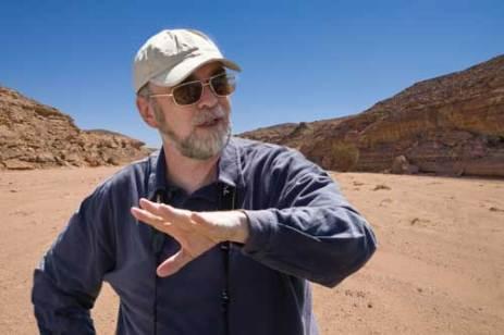 David in the Egyptian Desert.