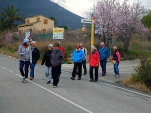 Healthy Walking - BENISSA - Senija Country Lanes @ Carpark in front of the Benissa cemetery close to the A7 entrance gatei Cansalades.