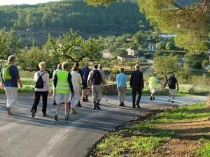 "Healthy Walking - BENISSA - Walk through Canor Area Teulada @ Pedrera industrial park, the road behind JUJU, calle Benz. Park near ""Dam-Sport"" and ""Mustang Sally""."