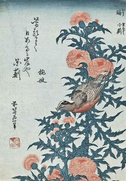 Hokusai -birds