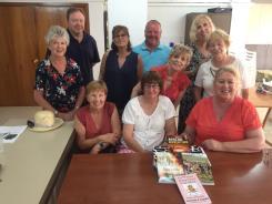 Lucinda visit writing group