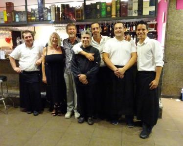 Pat & Brian with Orhan and staff