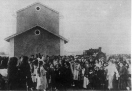 Arrival in Gata Foto: Arxiu Municipal de Dénia