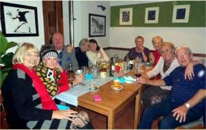 Canasta group dinner
