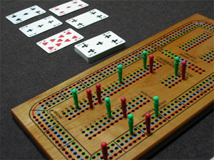 cribbage-board