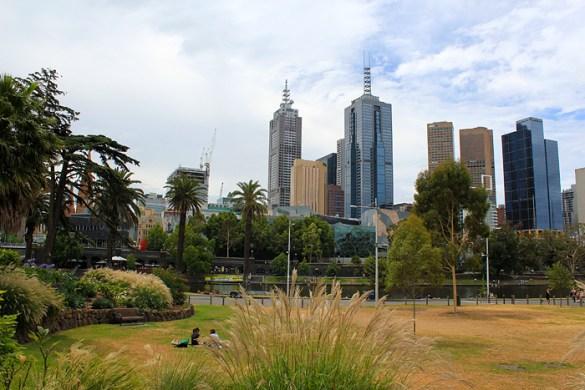 Picnic in Melbourne city