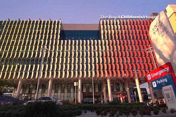 Фасад больницы. Source: www.rch.org.au