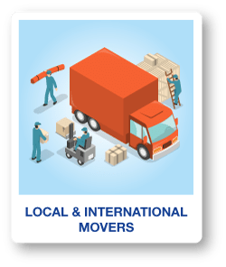 Local and International Movers