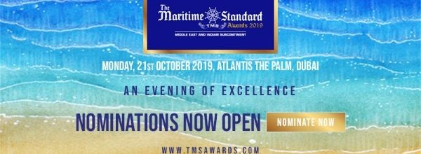 Nominations open for The Maritime Standard Awards 2019