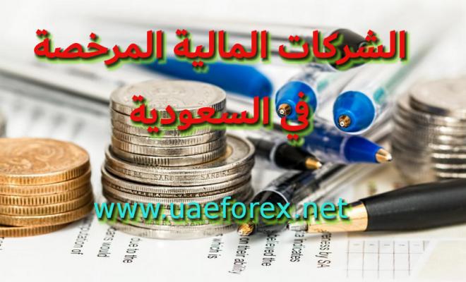 الشركات المالية المرخصة في السعودية ( فوركس مرخص في السعودية )