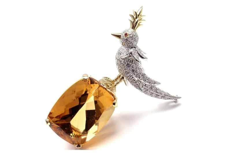 بروش Bird on a Rock  من تيفاني أند كوو