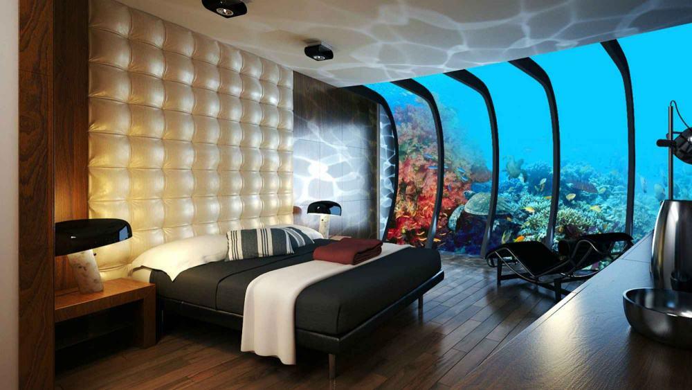 الفندق المائي في دبي