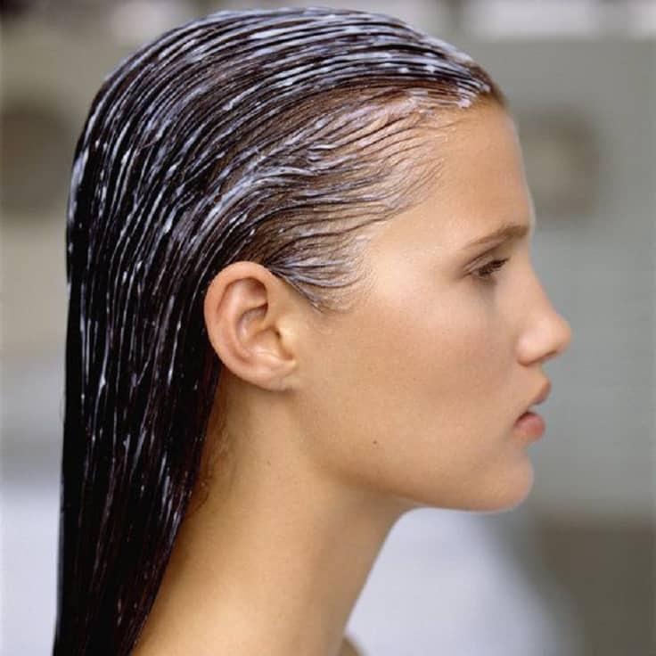 ماسك المايونيز جفاف الشعر