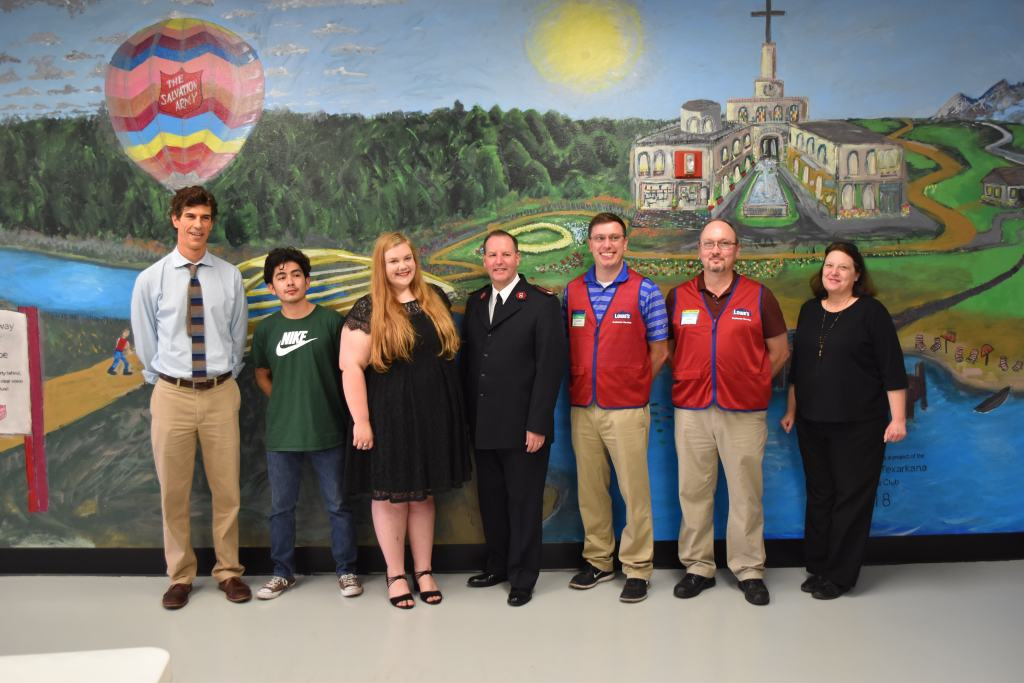 Fine Arts Club Mural Dedication