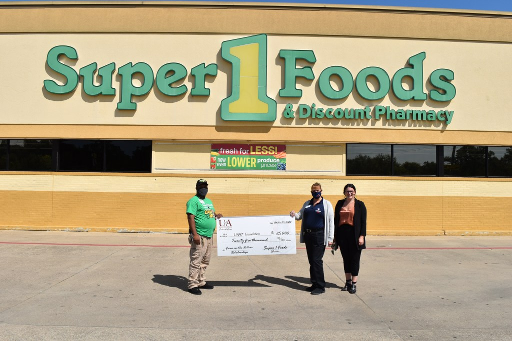Super 1 Foods Donation