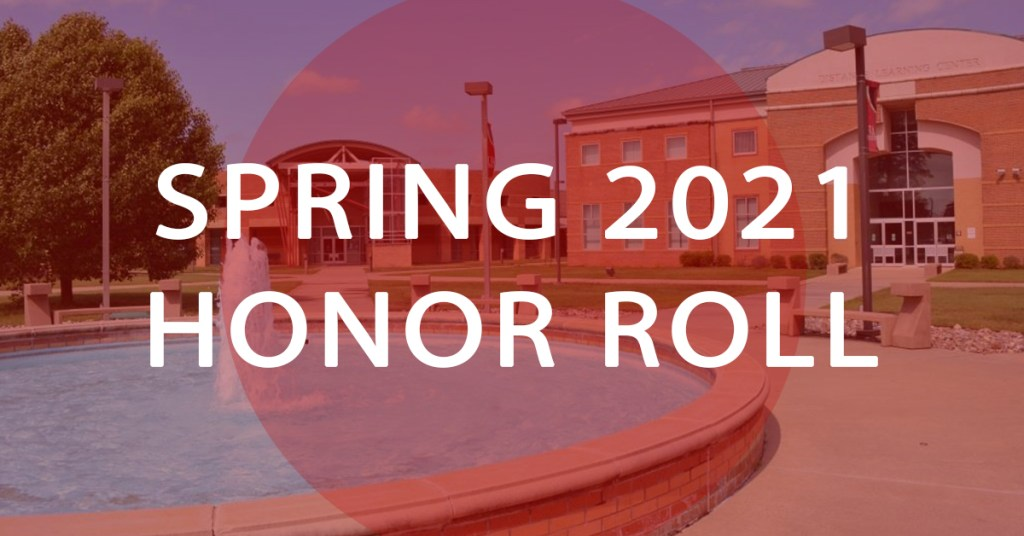 UA HOPE-TEXARKANA SPRING 2021 HONOR ROLL
