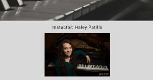 Voice and Piano Lessons Offered at UAHT