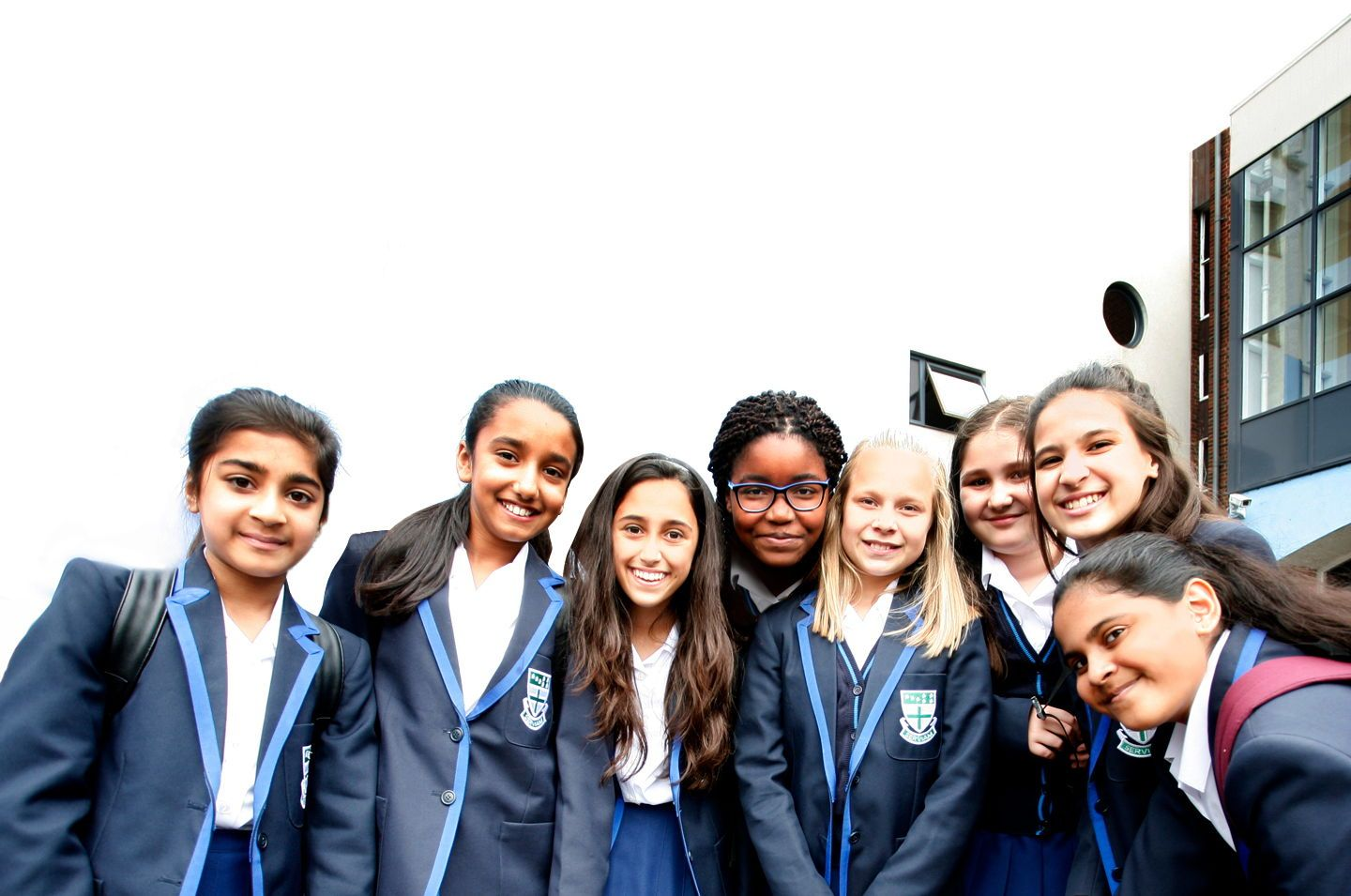 These are students of the Ursuline Academy, Ilford