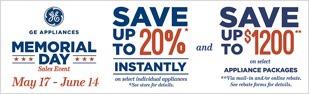 GE Sale Rebate