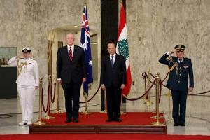 Australian Governor General meets Lebanon's President