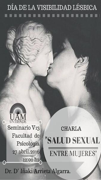 Cartel_Charla_Salud sexual entre mujeres_2016