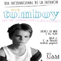 Cartel_Cinefórum_proyección y debate sobre la diversidad sexual y de géro en la infancia_Tomboy