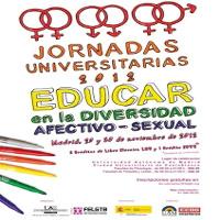 Cartel_Jornadas_Educación y Diversidad Sexual y de Género. Educar en la diversidad afectivo-sexual