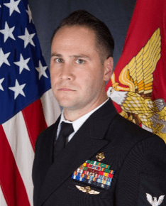 U.S. Navy Chief Petty Officer (SOIDC) Eric Gilmet.