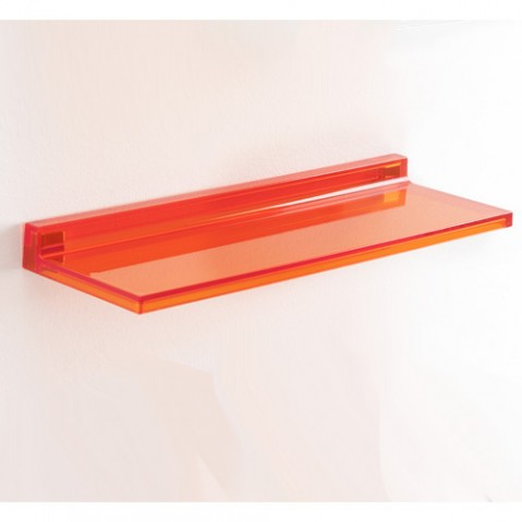 etagere shelfish de kartell orange