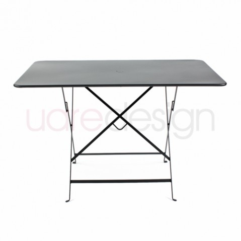 table pliante bistro 117 x 77cm reglisse de fermob