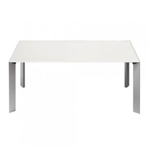 table extensible nori blanc de kristalia