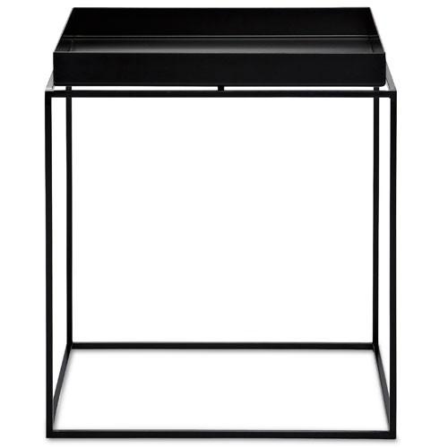 table basse tray 40 40 hay noir
