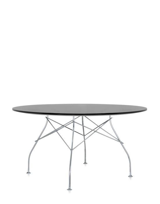 table ovale glossy 3 couleurs de kartell