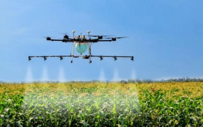 crop-spraying drones fight locust swarms in pakistan – uas vision