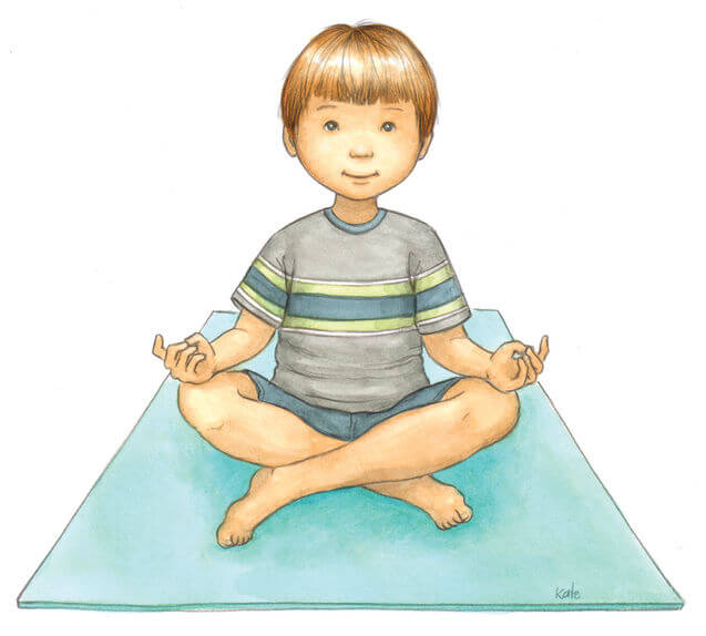 Yoga for children: peace of mind