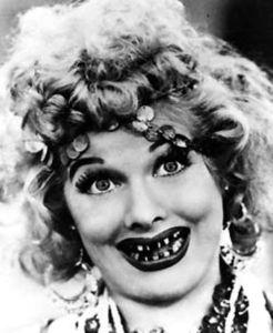 Lucy Black Teeth Schtick
