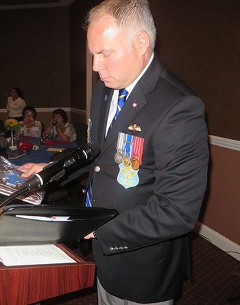 Andre Sochaniwsky, president of the Ukrainian War Veterans Association of Canada