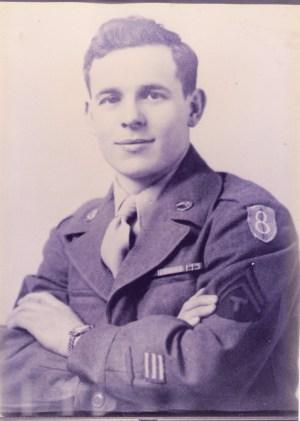 WWII Veteran John Terrebetzky, UAV Post 27 patron
