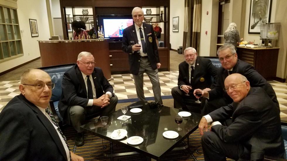 UAV delegates gather prior to the 2019 Convention