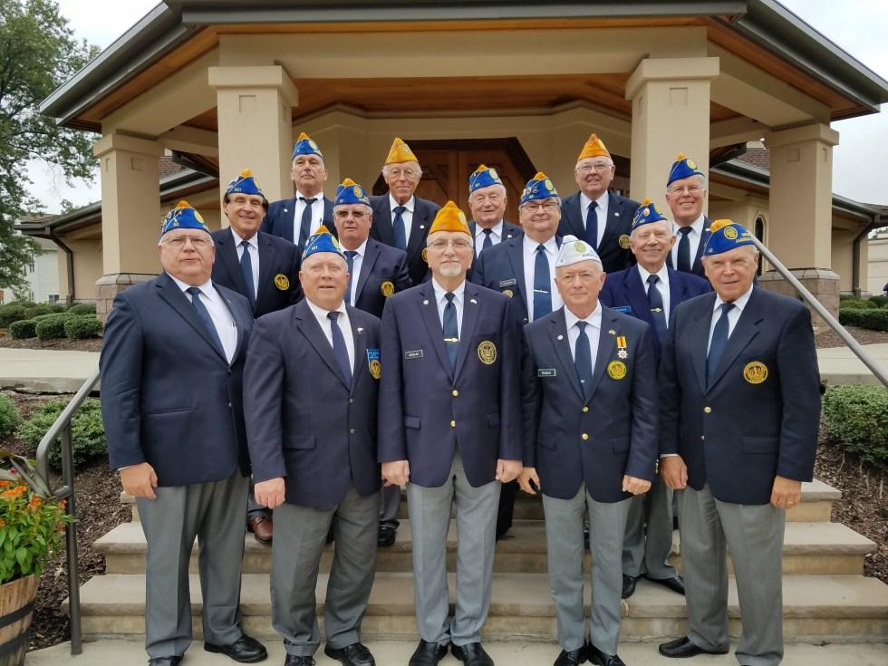 Ukrainian American Veterans (UAV) National Executive Board members